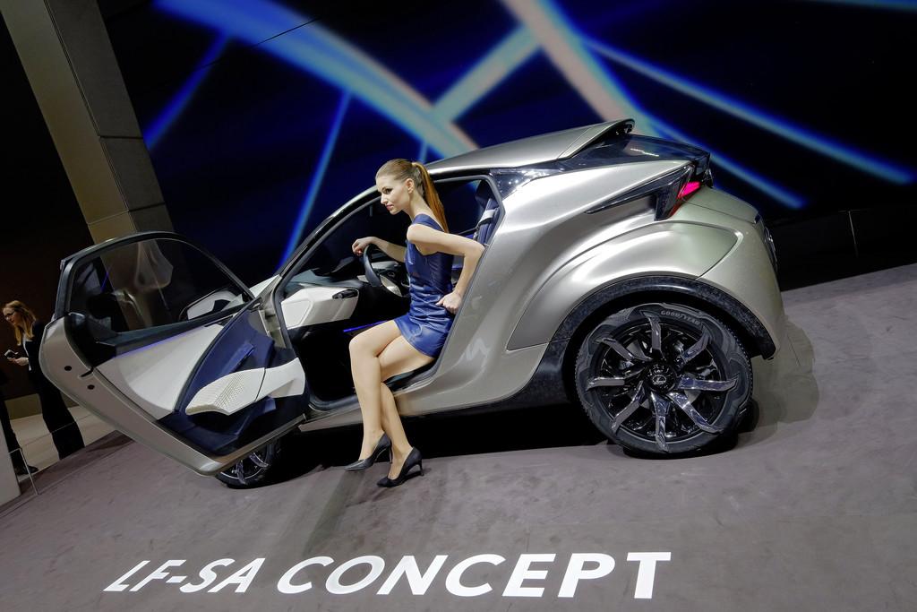 Lexus LF-SA Concept. © spothits/Auto-Medienportal.Net/Manfred Zimmermann