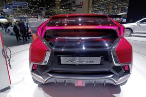 Genf 2015: Kompakte Plug-in-Hybridstudie von Mitsubishi.© spothits/ Auto-Medienportal.Net/Manfred Zimmermann