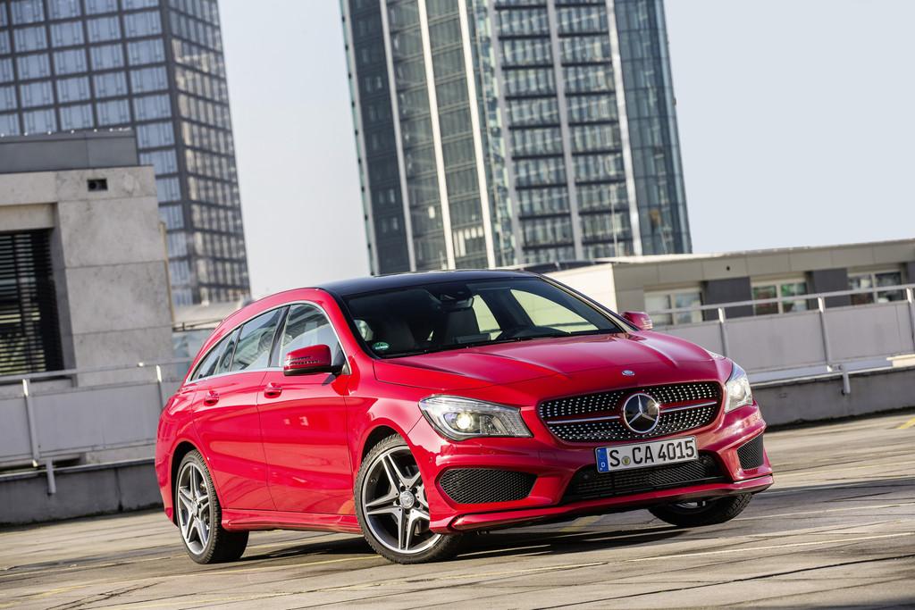 Erfolgreiche Markteinführung des Mercedes-Benz CLA Shooting Brake. © spothits/Auto-Medienportal.Net/DaimlerErfolgreiche Markteinführung des Mercedes-Benz CLA Shooting Brake. © spothits/Auto-Medienportal.Net/Daimler