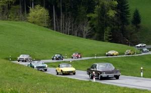 Bodensee Klassik 2015: 549 Kilometer durchs Dreiländereck. © spothits/ Auto-Medienportal.Net/Auto Bild Klassik