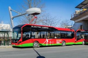 Stockholm betreibt erste Linie mit Elektro-Hybrid-Bussen © spothits/Auto-Medienportal.Net/Volvo