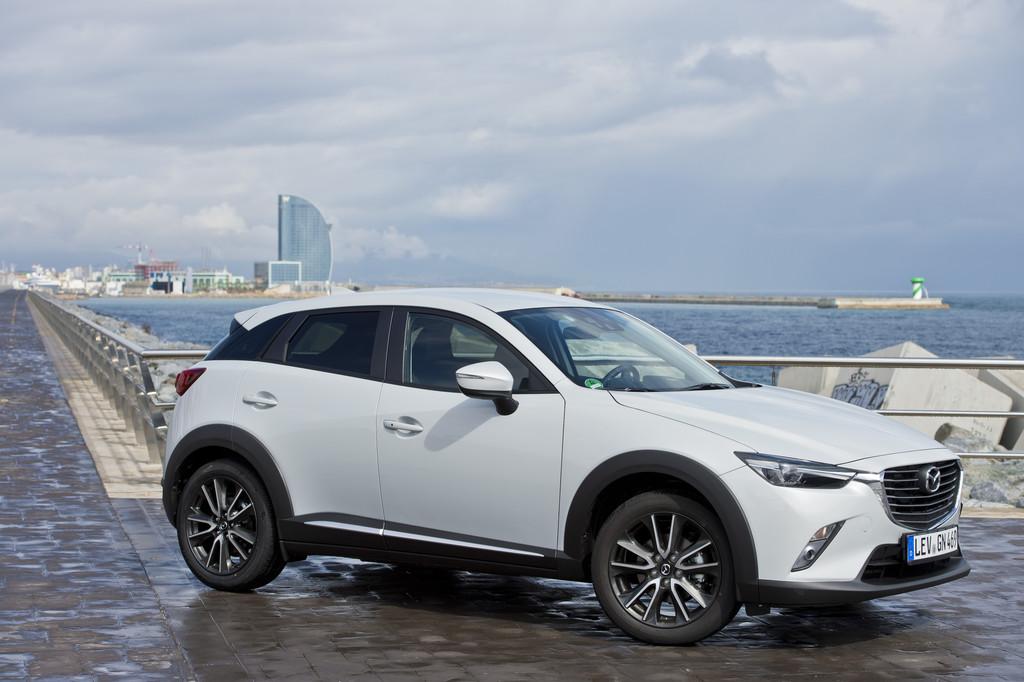 Mazda CX-3: AMazda CX-3: Auffällige Erscheinung.© spothits/Auto-Medienportal.Net/Mazdauffällige Erscheinung.© spothits/Auto-Medienportal.NMazda CX-3: Auffällige Erscheinung.© spothits/Auto-Medienportal.Net/Mazda