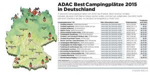 ADAC: 115 Campingplätze in Europa sind spitze. © spothits/Auto-Medienportal.Net/ADAC