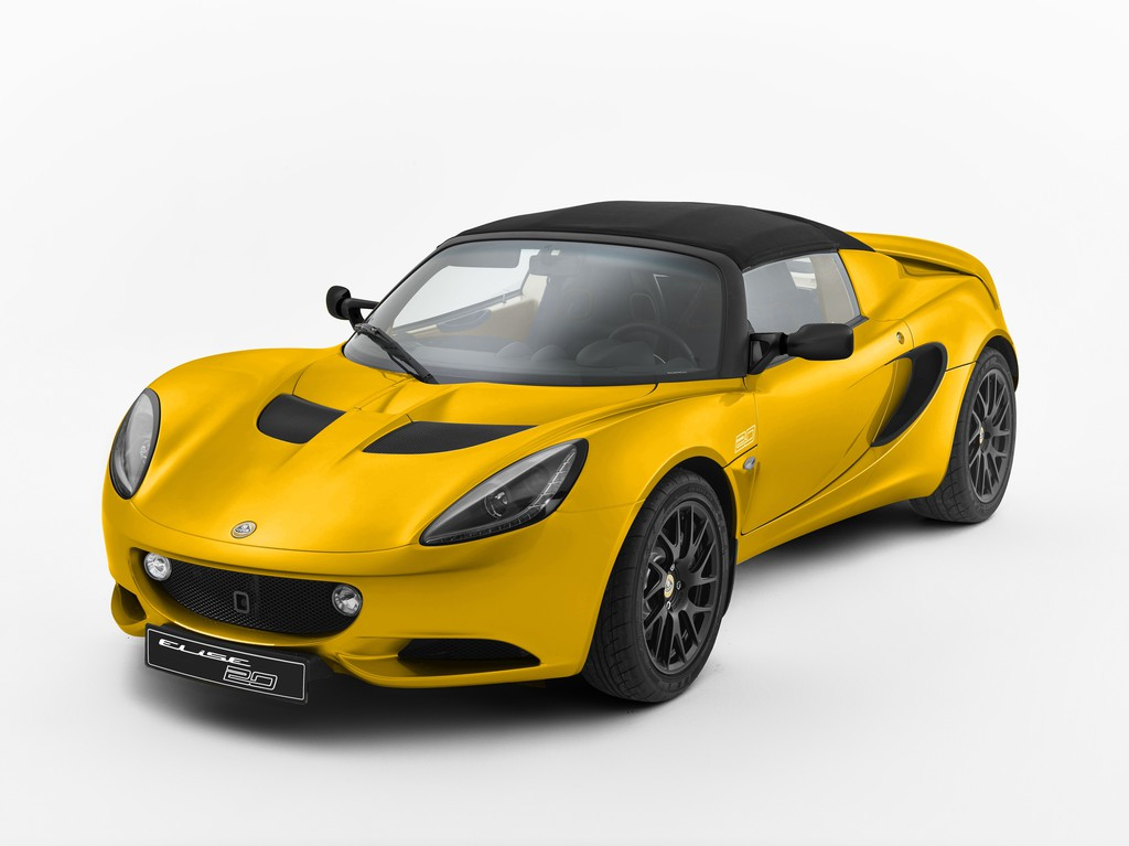 "Alles Gute um Geburtstag: Lotus Elise S ""20th Anniversary Special Edition"". © spothits/Auto-Medienportal.Net/Lotus"