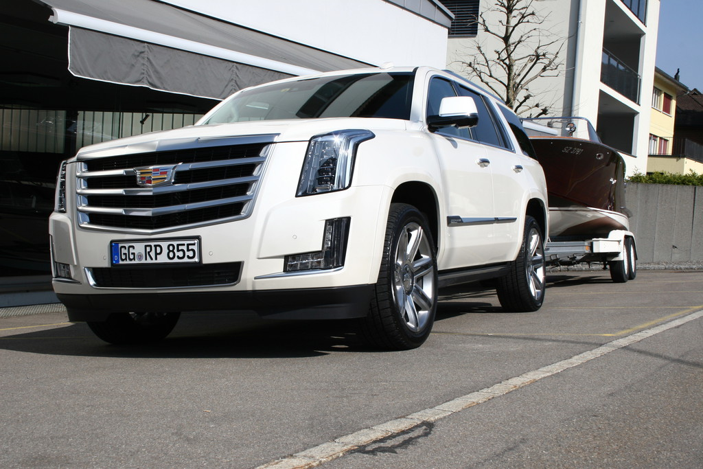 Cadillac Escalade: Monument auf Rädern.© spothits/Auto-Medienportal.Net/Cadillac