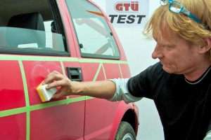 GTÜ testet Lackpolituren. © spothits/Auto-Medienportal.Net/GTÜ