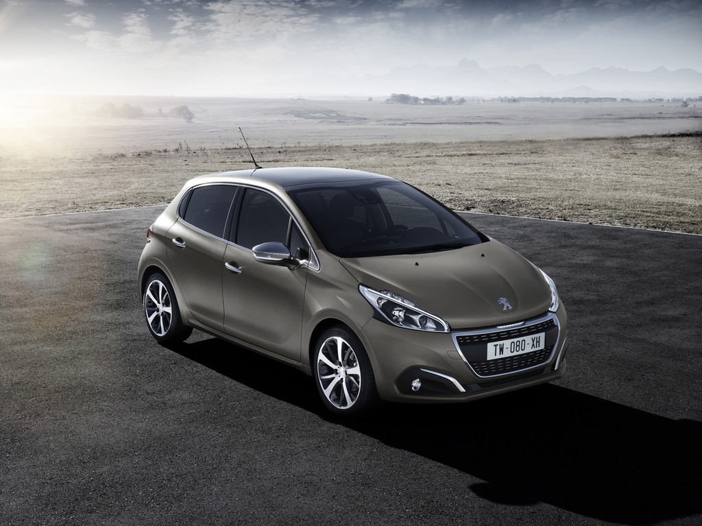 Strukturlackierung für Peugeot 208. © spothits/Auto-Medienportal.Net/Peugeot