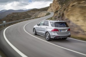 New York 2015: Premiere für Mercedes GLE. © spothits/Auto-Medienportal.Net/Daimler