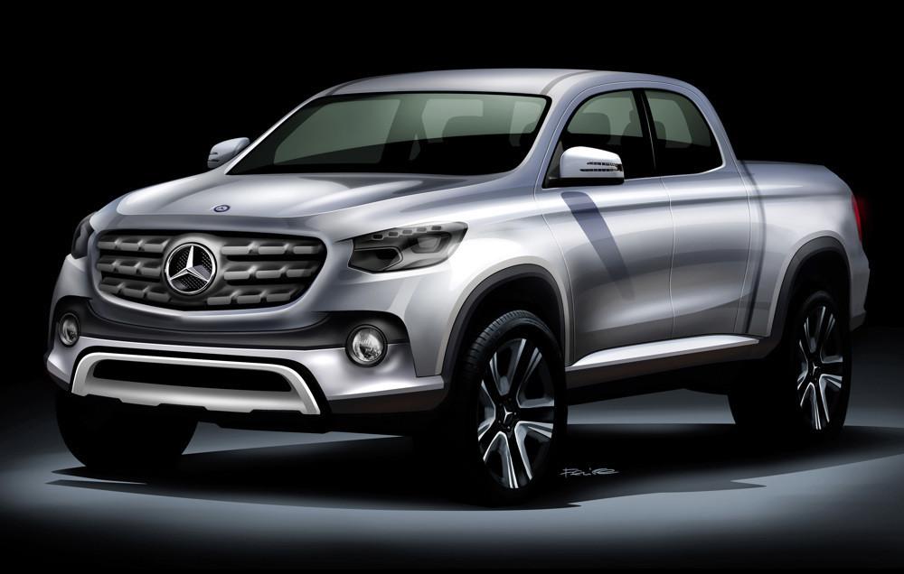 Mercedes-Benz Vans bringt mittelgroßen Pickup auf den Markt. © spothits/Auto-Medienportal.Net/Daimler