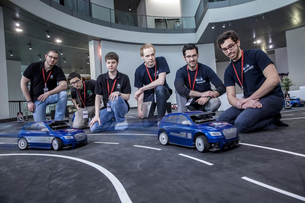 Das beste autonom fahrende Modellauto kommt aus München. © spothits/Auto-Medienportal.Net/Audi