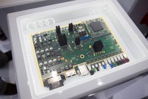 Zentralsteuergerät managt alle Systeme für pilotiertes Fahren bei Audi. © spothits/Auto-Medienportal.Net/Audi