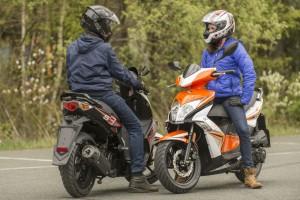 Kymco bietet Gratis-Drosselsatz für sechs Scooter-Modelle. © spothits/Kymco