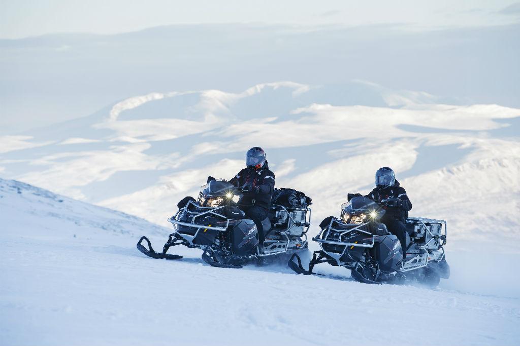 Touratech kooperiert mit Lynx Snowmobiles. © spothits/BRP Finland Oy