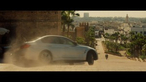 "BMW bei ""Mission Impossible – Rouge Nation"" dabei. © spothits/BMW"