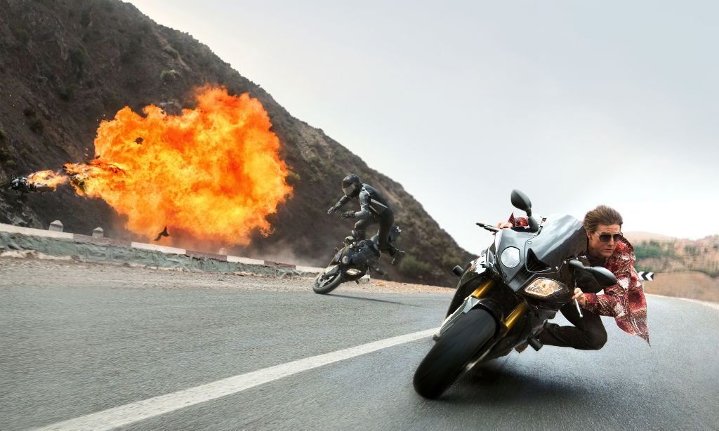 """BMW bei """"Mission Impossible – Rouge Nation"""" dabei. © spothits/BMW"""