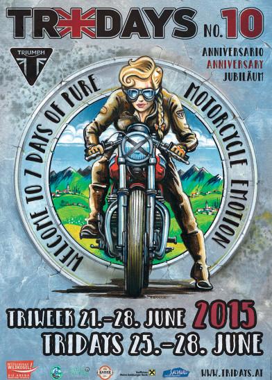 Triumph Tridays feiern 10-jähriges Jubiläum. © spothits/Triumph