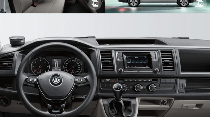 Weltpremiere VW T6: Die 6. Generation fährt vor. © spothits/VW Nutzfahrzeuge