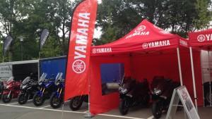 Yamaha Probefahrt-Termine 2015. © spothits/Yamaha