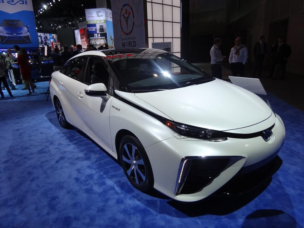 Im Herbst startet der Toyota Mirai auch in Deutschland. © spothits/Auto-Medienportal.Net
