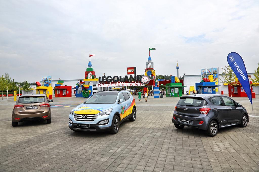 Hyundai im Legoland Deutschland. © spothits/Auto-Medienportal.Net/Hyundai