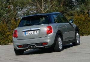 Fahrbericht Mini Cooper S 5-Türer: Aus Mini wird Midi. © spothits/Auto-Medienportal.Net/Axel F. Busse