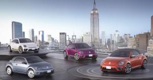 New York 2015: Volkswagen zeigt Beetle-Studien. © spothits/Auto-Medienportal.Net/Volkswagen