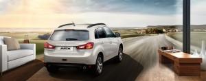 Mitsubishi ermöglicht virtuelle ASX-Probefahrt. © spothits/Auto-Medienportal.Net/Mitsubishi