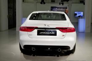 New York 2015: Jaguar XF zeigt sich. © spothits/Auto-Medienportal.Net/Jaguar