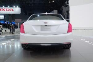New York 2015: Mit dem Cadillac CT6 mit neuer Nomenklatur. © spothits/Auto-Medienportal.Net/Manfred Zimmermann