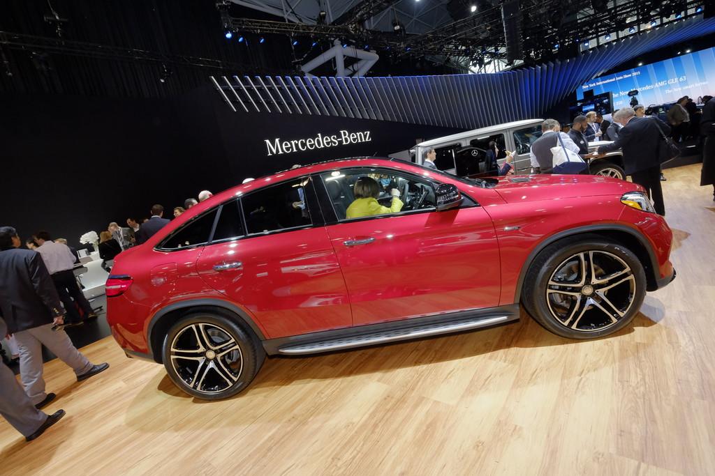 New York 2015: Mercedes-Benz GLE feiert Weltpremiere. © spothits/Auto-Medienportal.Net/Manfred Zimmermann