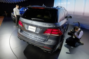 New York 2015: Mercedes-Benz GLE feiert Weltpremiere. © spothits/Auto-Medienportal.Net/Manfred Zimmermann