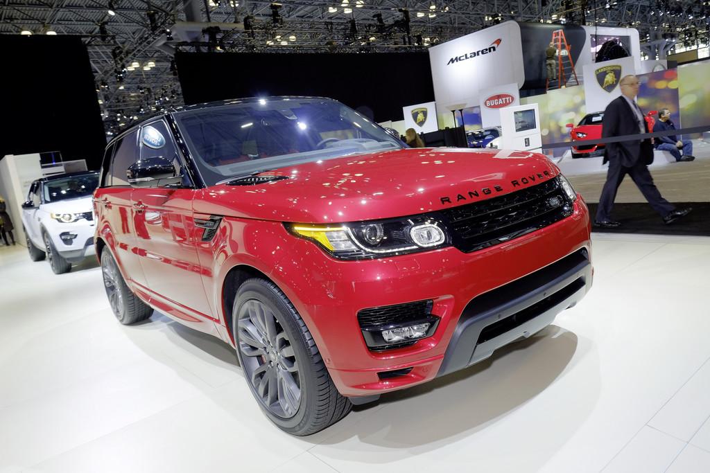 New York 2015: Land Rover enthüllt Range Rover Sport HST. © spothits/Auto-Medienportal.Net