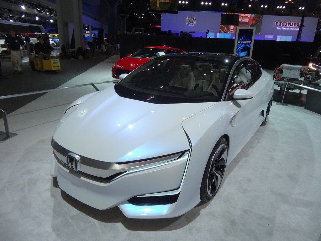 New York 2015: Honda FCV kommt 2016. © spothits/Auto-Medienportal.Net
