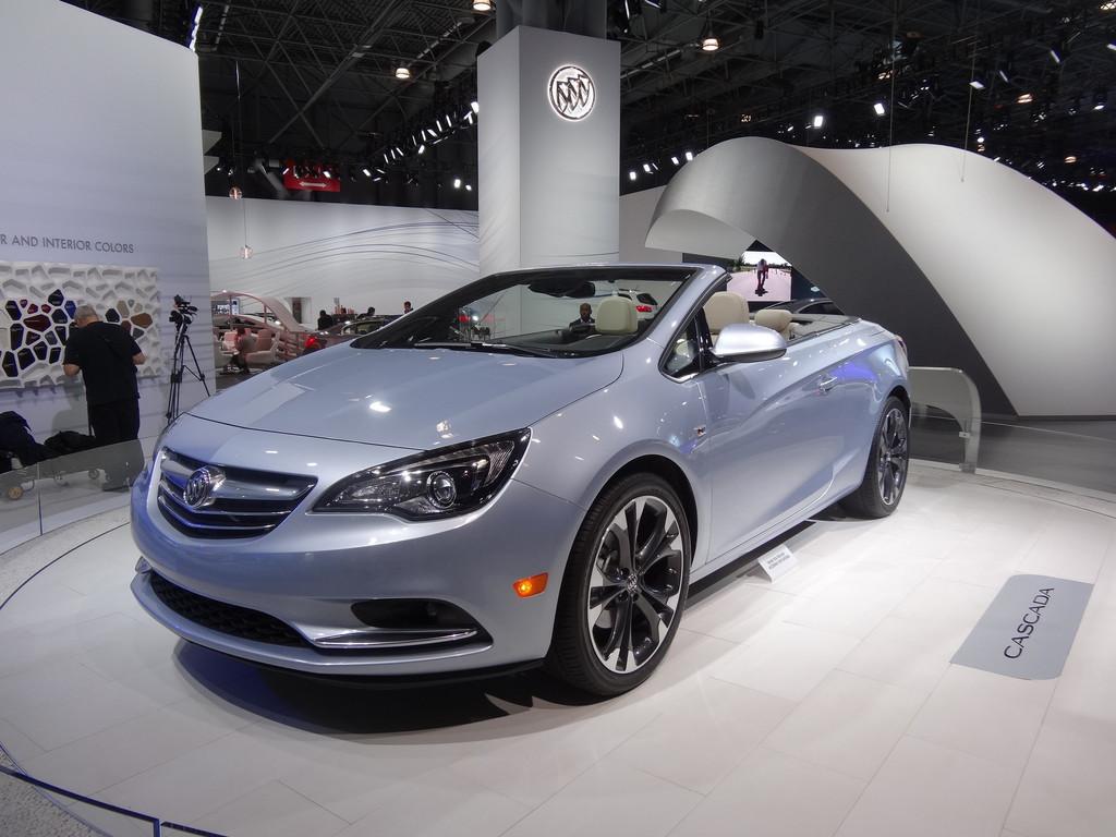 New York 2015: Buick Cascada – Amerikaner mit deutschen Wurzeln. © spothits/Auto-Medienportal.Net