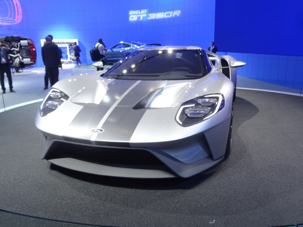 New York 2015: Ford zeigt GT. © spothits/Auto-Medienportal.Net