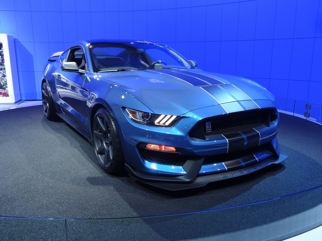 New York 2015: Ford zeigt Shelby GT350-R. © spothits/Auto-Medienportal.Net