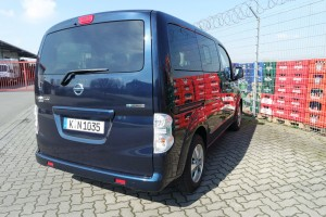 Nissan e-NV200 Evalia: Der piept wohl. © spothits/Auto-Medienportal.Net