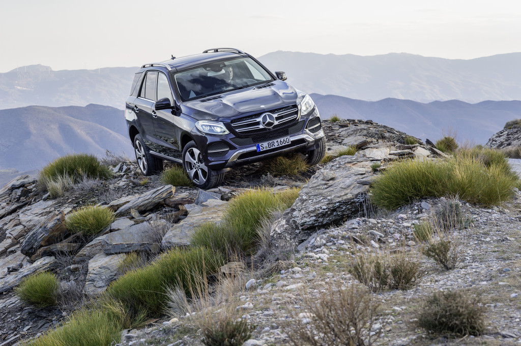 Mercedes-Benz GLE ab 45 350 Euro. © spothits/Auto-Medienportal.Net/Daimler