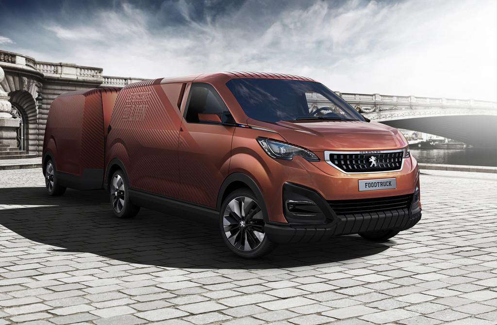 Peugeot-Design-Lab entwirft Foodtruck. © spothits/Auto-Medienportal.Net/Peugeot