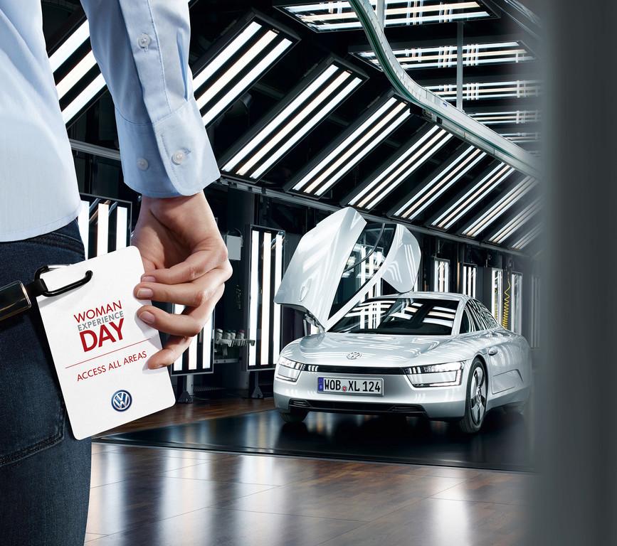 """Volkswagen lädt zum """"Woman Experience Day"""" ein. © spothits/Auto-Medienportal.Net/Volkswagen"""