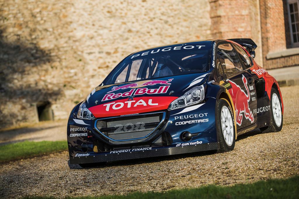 Peugeot startet mit modifiziertem 208 WRX. © spothits/Auto-Medienportal.Net/Peugeot