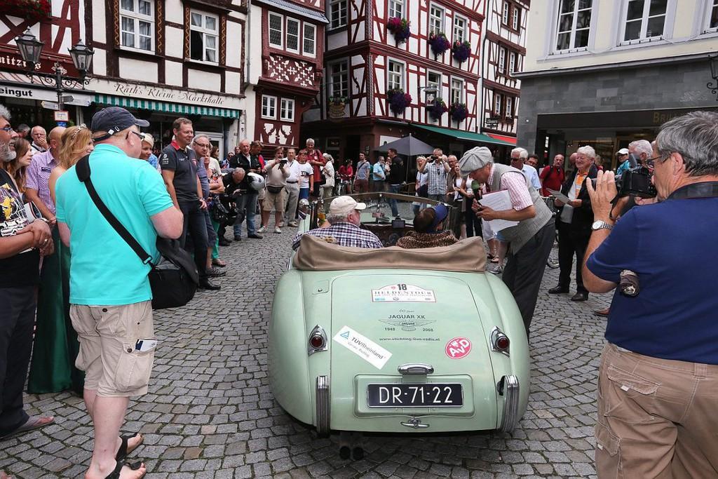 AvD Heldentour endet auf Schloss Dyck. © spothits/Auto-Medienportal.Net/AvD
