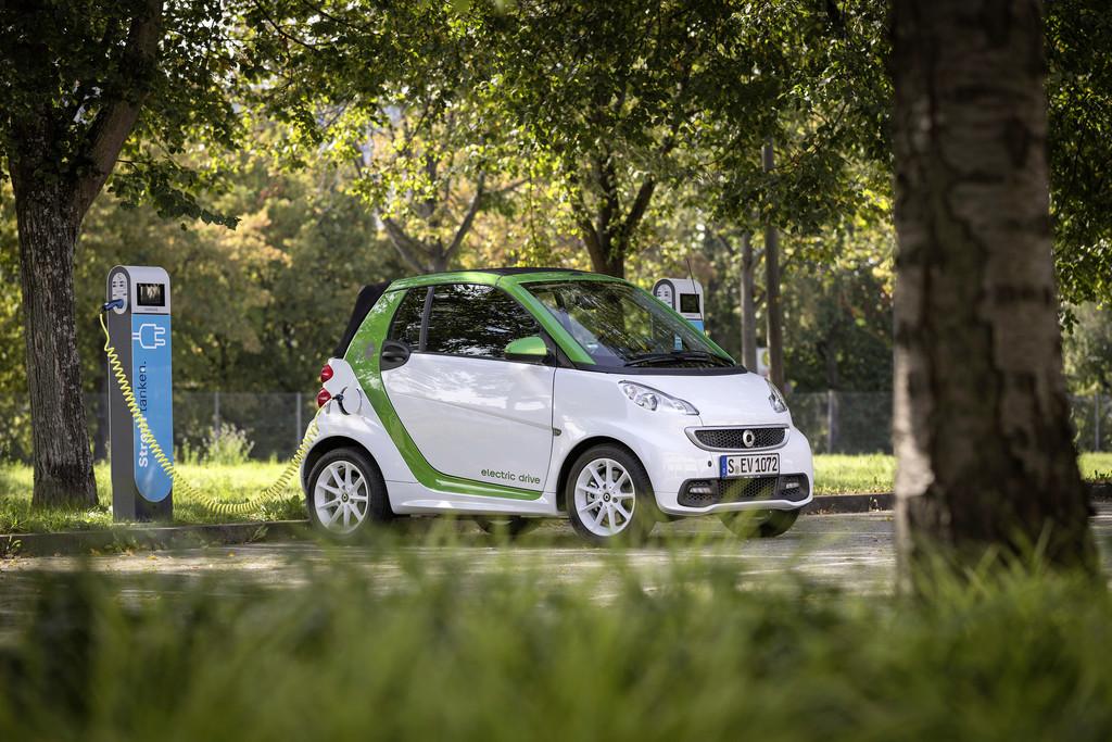 E-Smart mit 1665 Neuzulassungen. © spothits/Auto-Medienportal.Net/Daimler