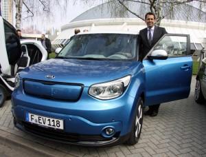 Einfach elektrisch: Kia bringt drei Soul EV mit. © spothits/Auto-Medienportal.Net/Kia