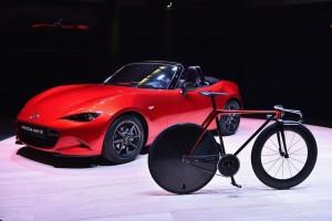 Mazda designt Fahrrad und Sofa. © spothits/Auto-Medienportal.Net/Mazda