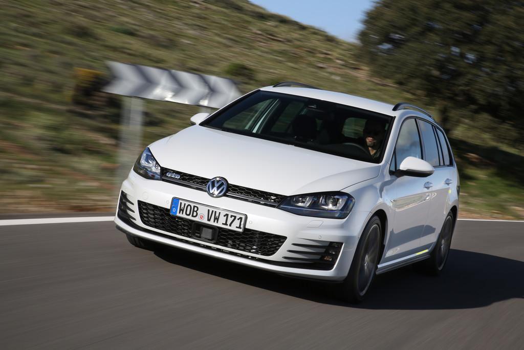 Volkswagen Golf Variant GTD und Alltrack: Variationen mit Klappe. © spothits/Auto-Medienportal.Net/Volkswagen