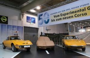Techno Classica: Opel zeigt die Anfänge des modernen Auto-Design. © spothits/Auto-Medienportal.Net/Opel