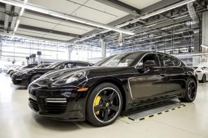 Meisterstück aus Leipzig: Porsche Panamera Exclusive Series. © spothits/Auto-Medienportal.Net