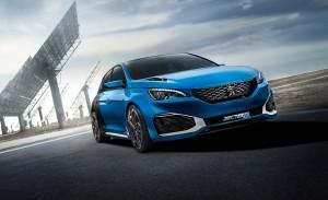 Shanghai 2015: Peugeot 308 R Hybrid-Concept-Car mit 500 PS. © spothits/Auto-Medienportal.Net/Peugeot
