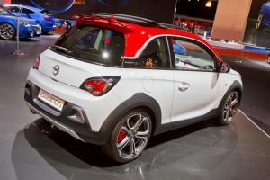 Opel Adam Rocks S: Tiefergelegt im Offroad-Look. © spothits/Auto-Medienportal.Net/Opel